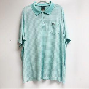 Greg Norman Men's Golf Polo Size 3XB